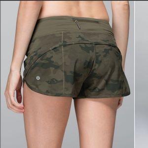 ✨Rare✨ Lululemon Speed Shorts
